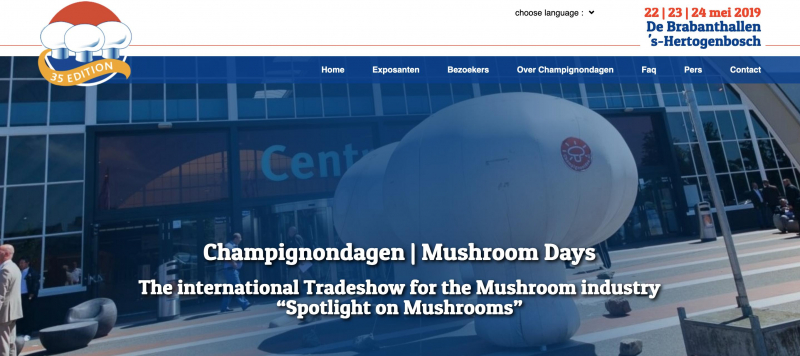 MUSHROOMDAYS IN OLANDA